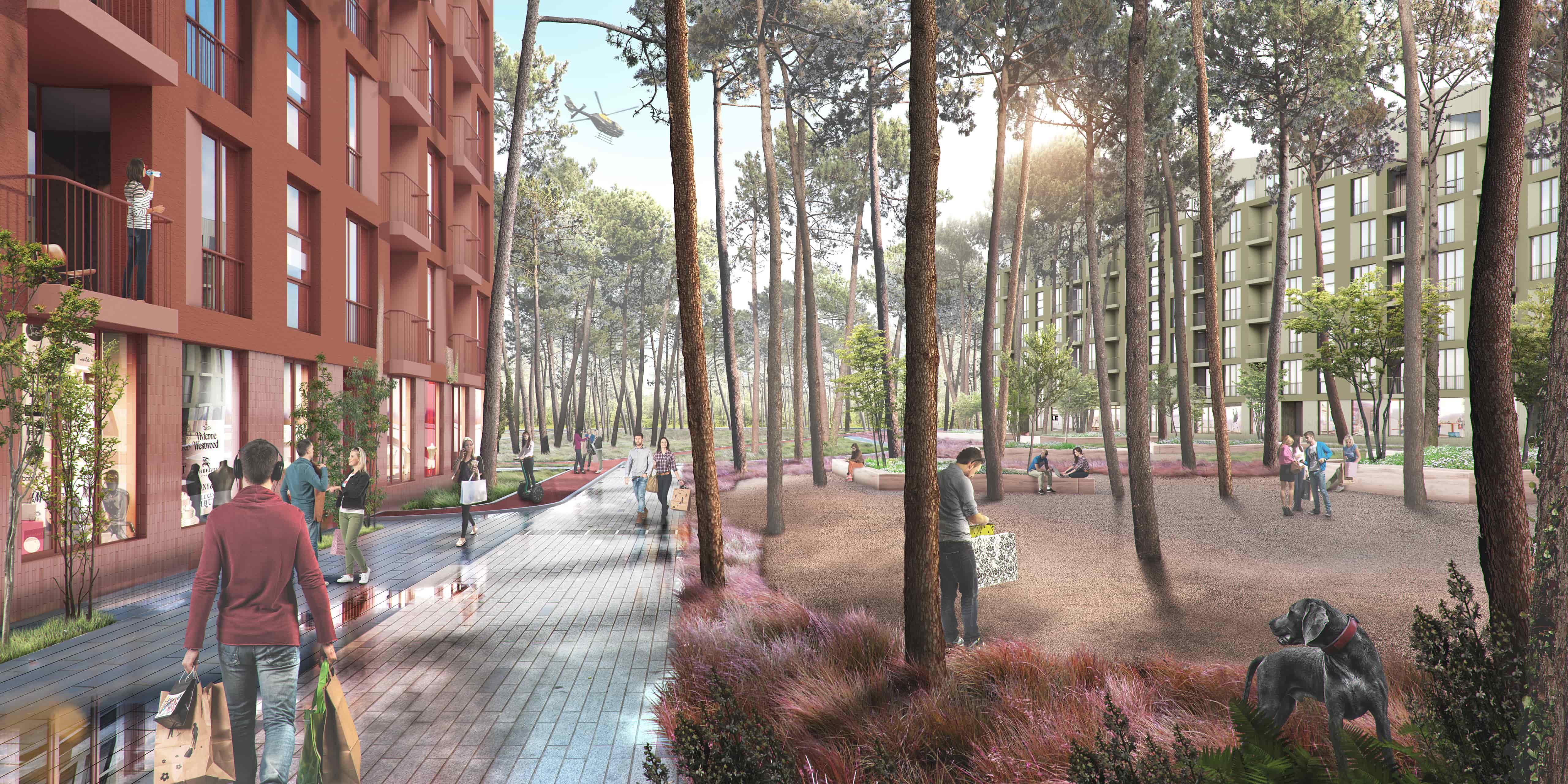 O2 RESIDENCE — нова резиденція у сосновому лісі біля озера 2