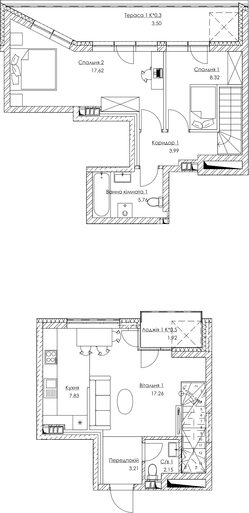 План квартири KV_33_2K2_1_1_1