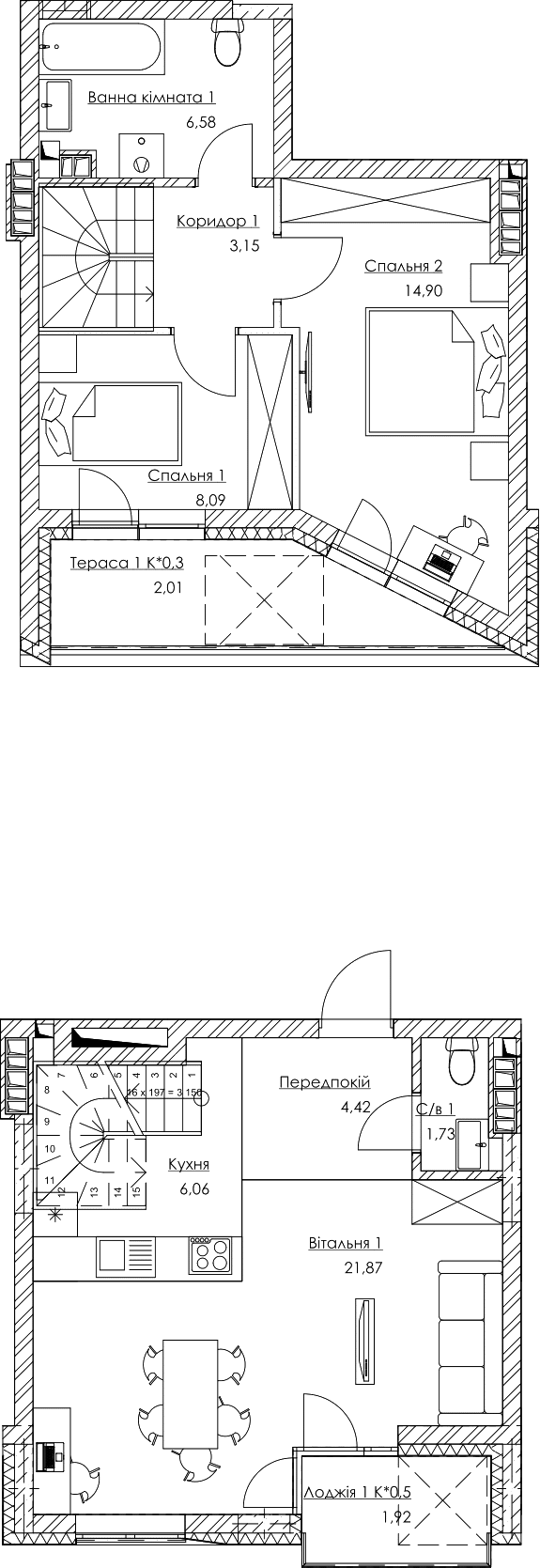 План квартири KV_37_2K4_1_1_5