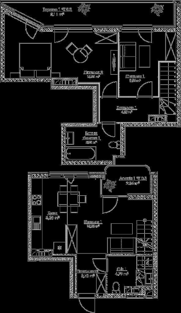 План квартири KV_35_4K1_1_1_3