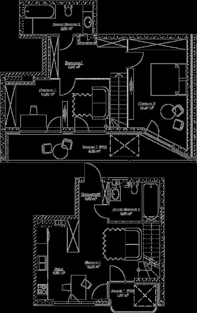 План квартири k3Г