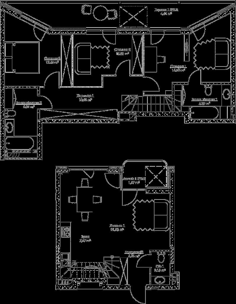План квартиры k4В