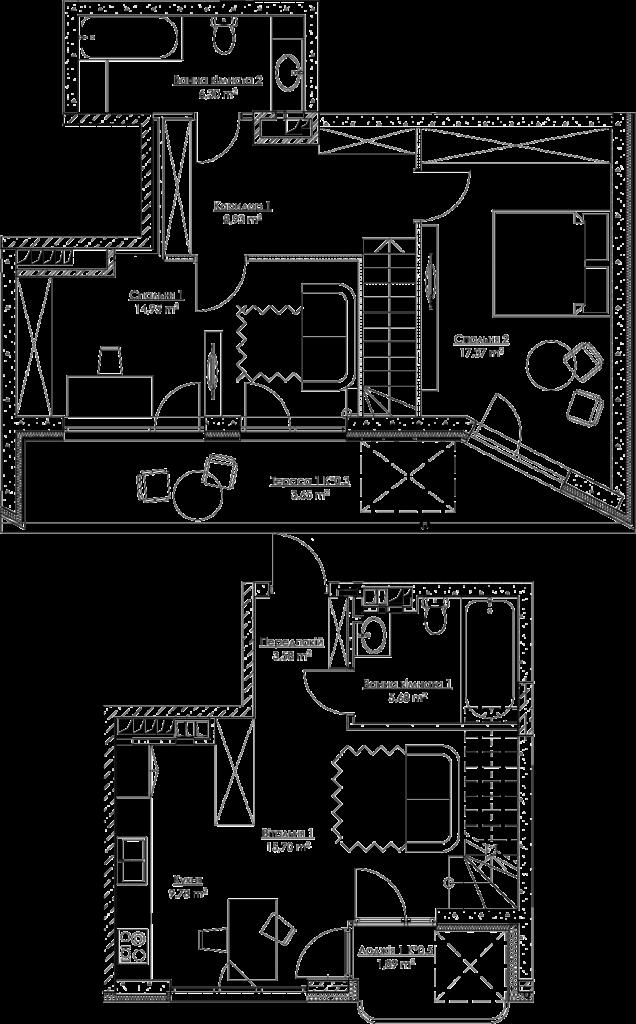 План квартири k3Ж