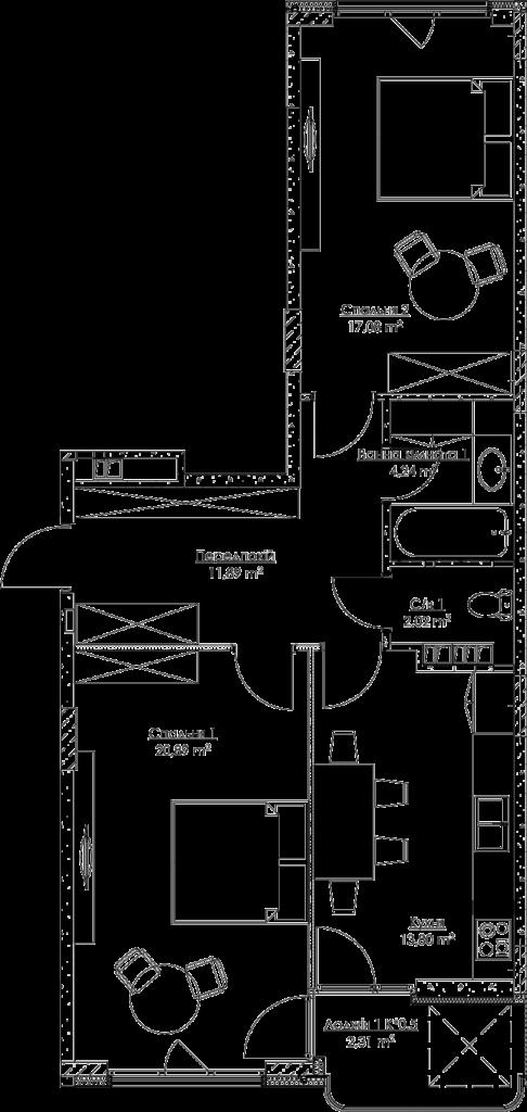 План квартиры KV_2_2a_1_1_2-1