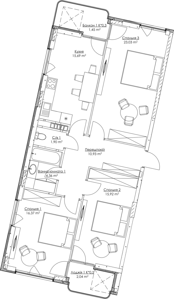 План квартиры KV_4_3a_1_1_4-1