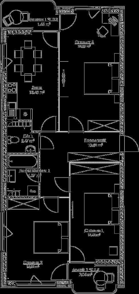 План квартири КВ_31_3A