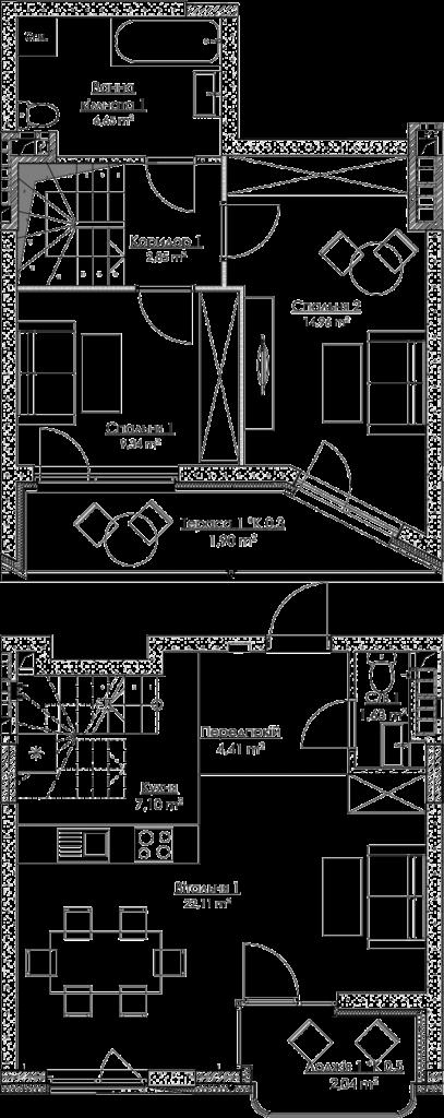 План квартири КВ_37_3Г_7