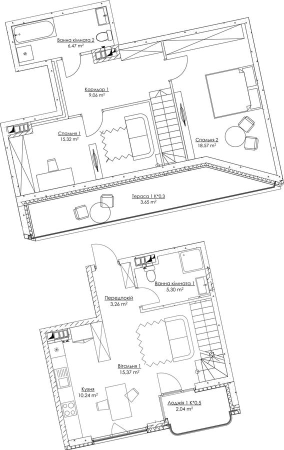 План квартири KV_21_3a_1_1_1-1