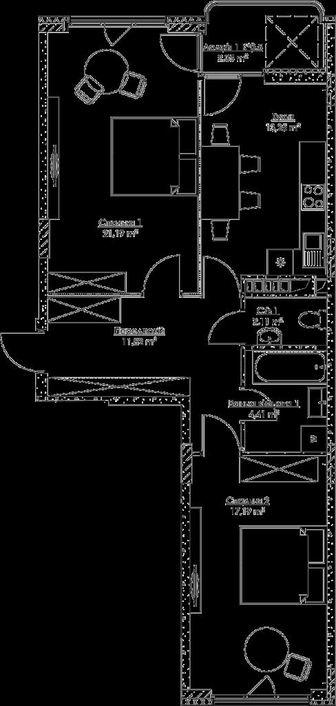 План квартиры KV_26_2b_1_2_7-1