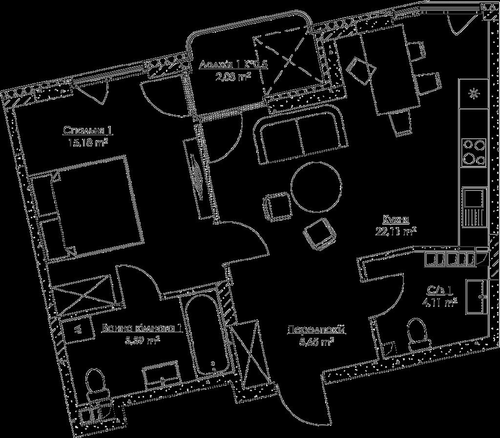 План квартири KV_27_1zh_1_2_8-1