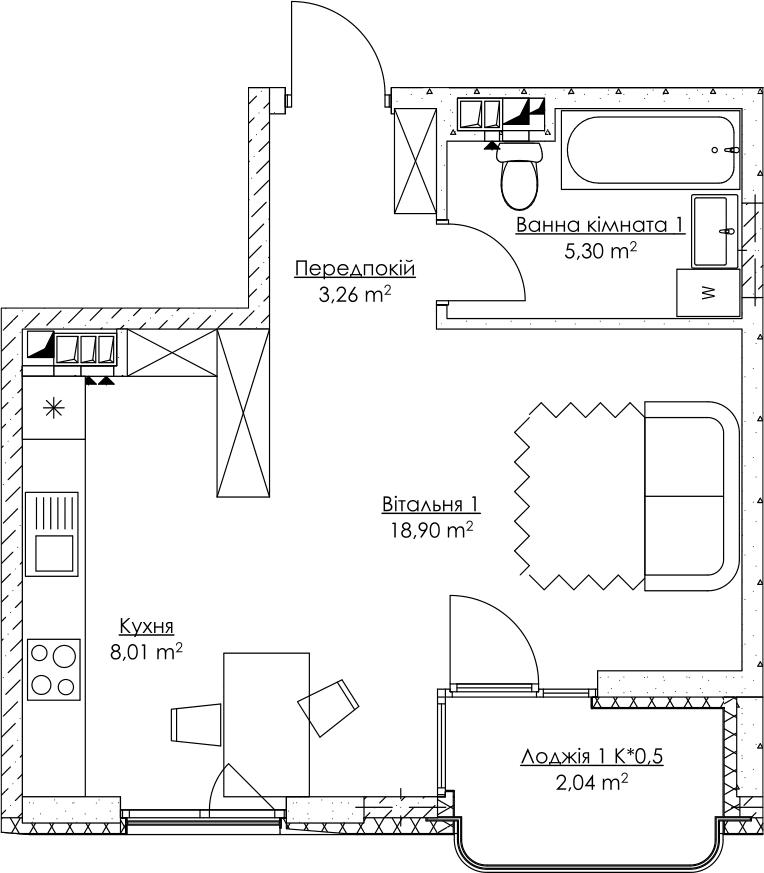 План квартири KV_69_1p_2_4_15-1