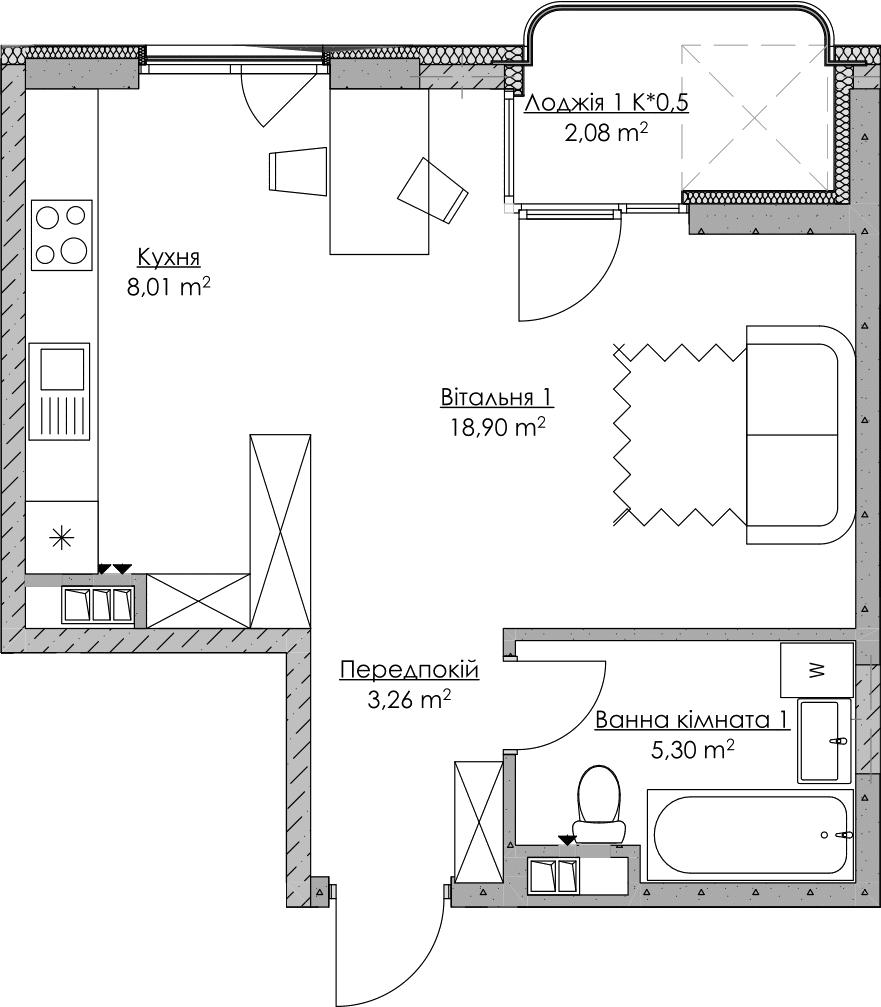 План квартири KV_23_1l_1_2_5-1
