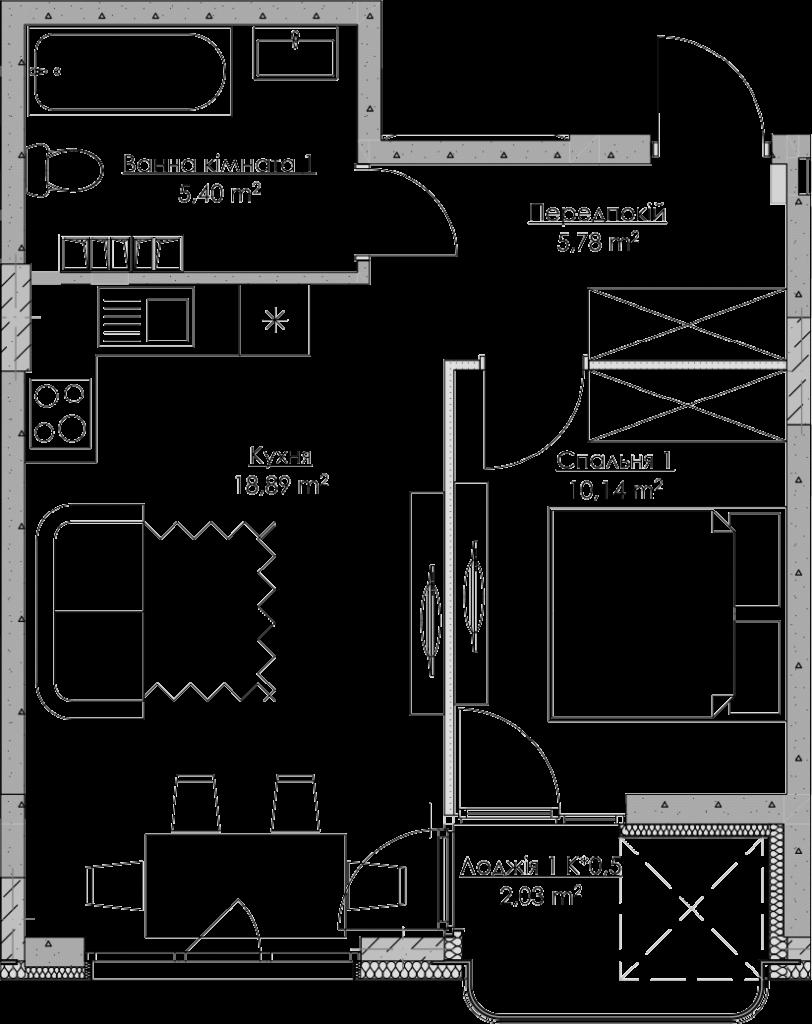План квартири KV_26_1f_1_2_8-1