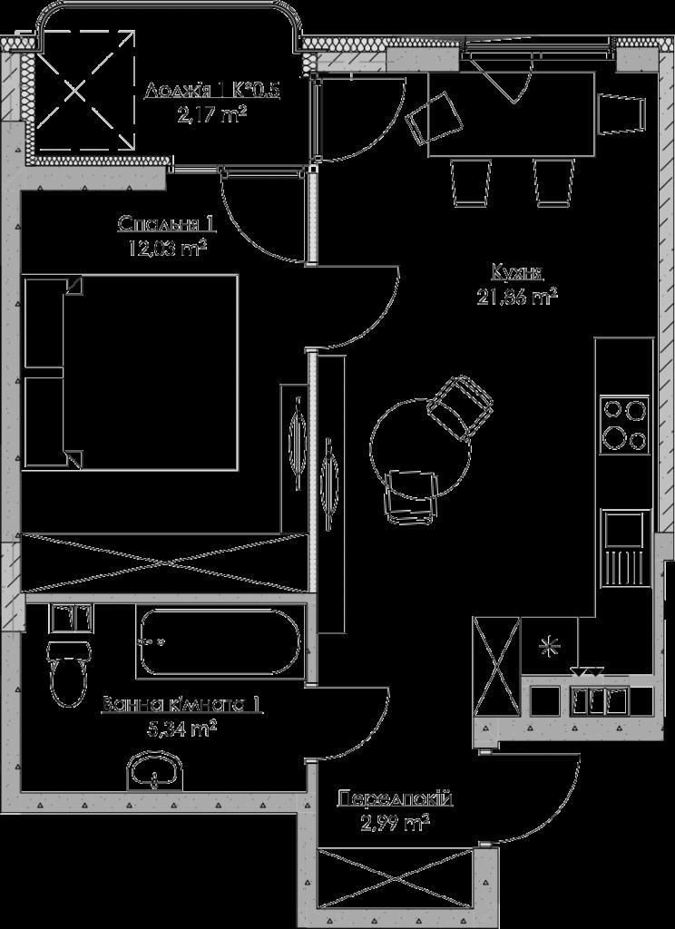 План квартири KV_27_1n_1_2_9-1