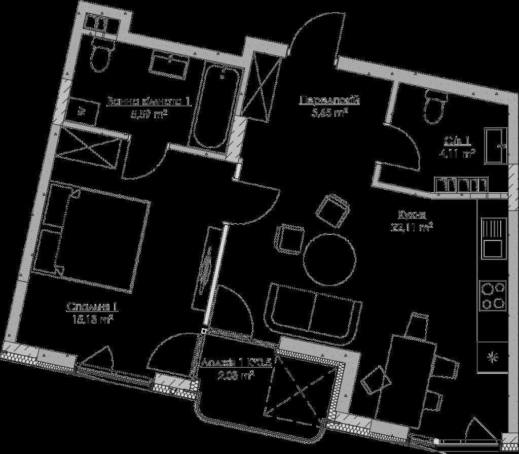 План квартири KV_3_1zh_1_1_3-1