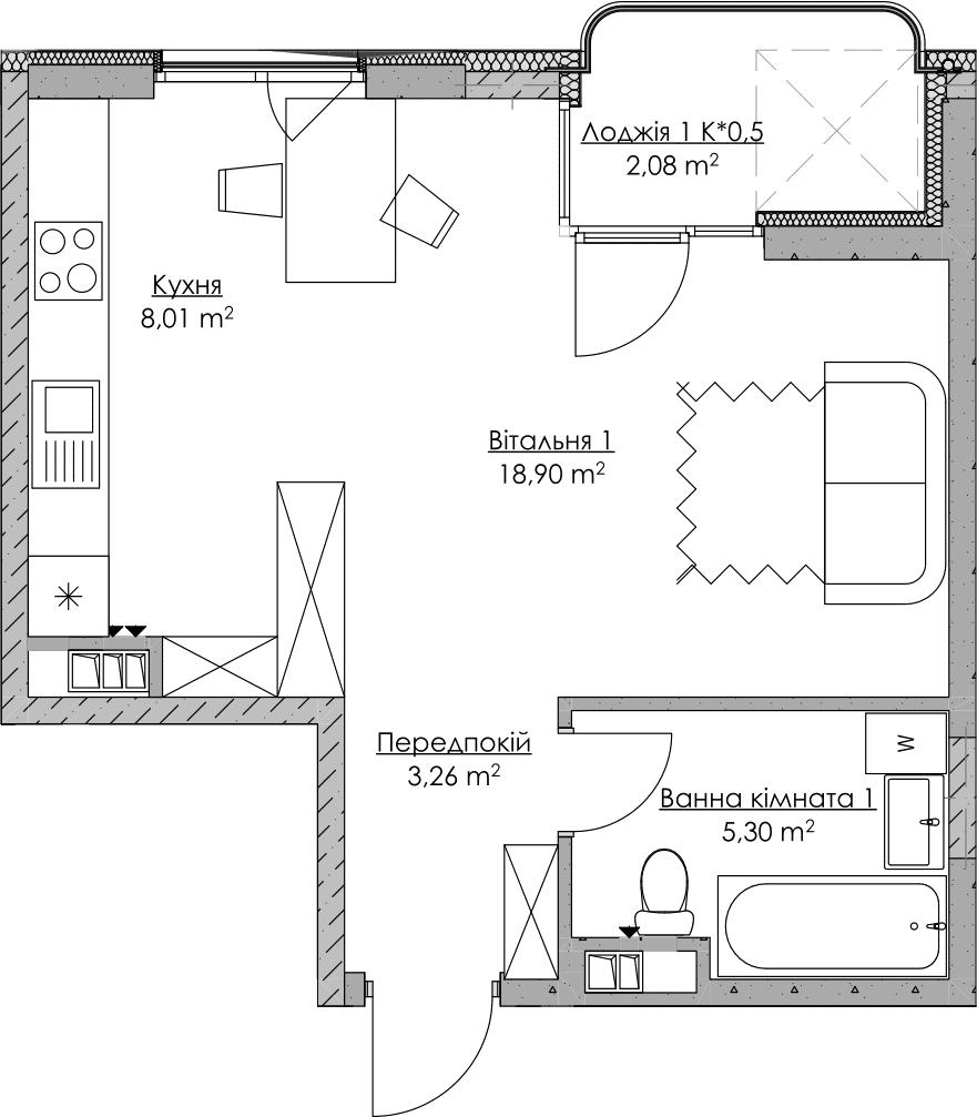 План квартири KV_49_1p_2_3_10-1