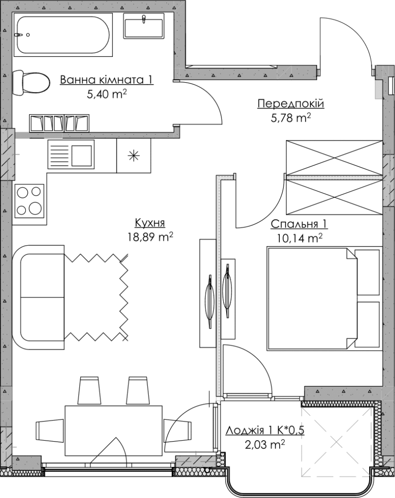 План квартири KV_78_1v_2_4_18-1